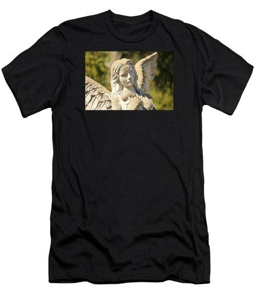 Angel In Mississippi Men's T-Shirt (Athletic Fit)