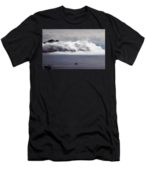 Angel Island Fog Men's T-Shirt (Athletic Fit)