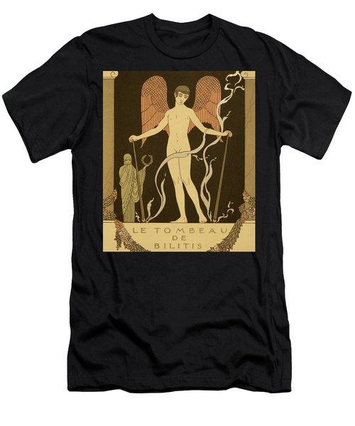 Angel Le Tombeau De Bilitis Men's T-Shirt (Athletic Fit)