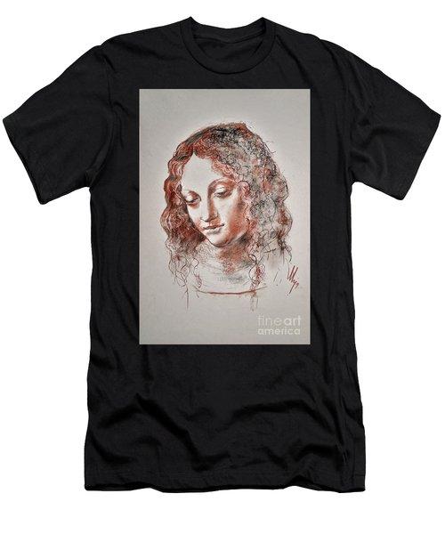 Angel Madonna Men's T-Shirt (Athletic Fit)