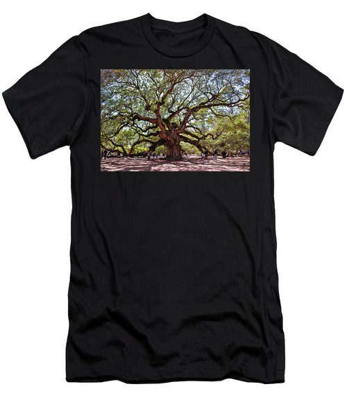 Angel Oak Tree 009 Men's T-Shirt (Athletic Fit)