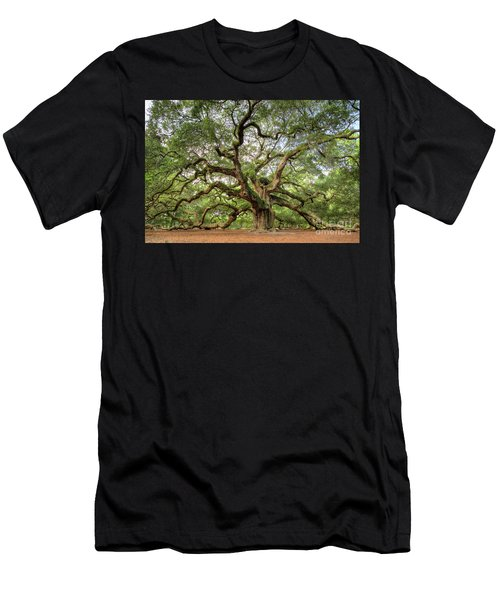 Angel Oak Tree Of Life Men's T-Shirt (Athletic Fit)