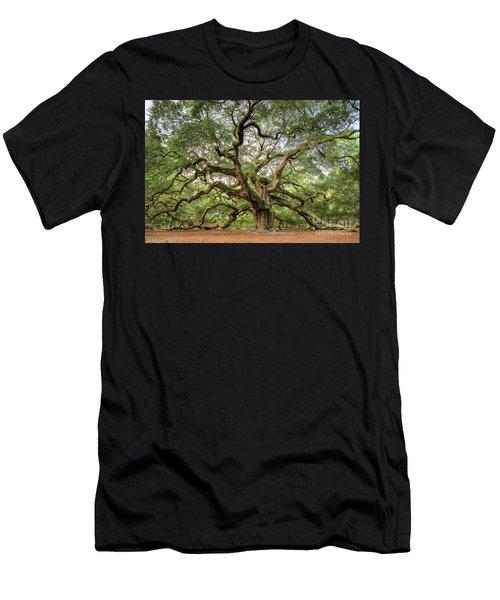 Angel Oak Tree Of Life Men's T-Shirt (Athletic Fit)