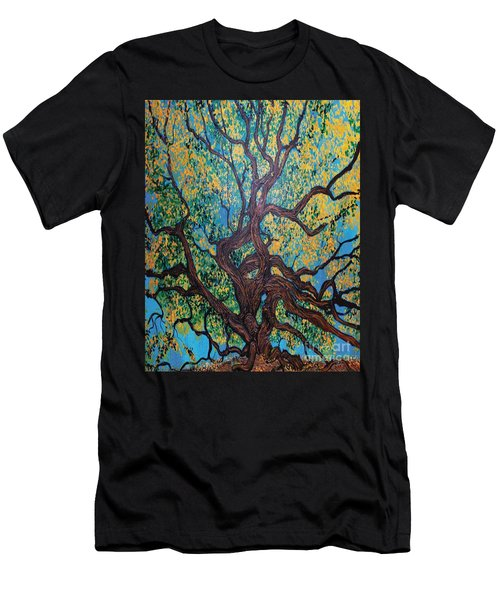 Angel Oak Young Men's T-Shirt (Athletic Fit)