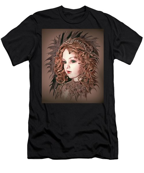 Angelic Doll Men's T-Shirt (Athletic Fit)