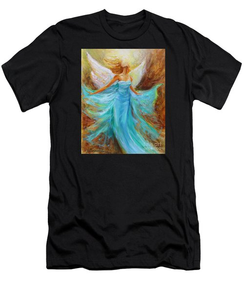 Angelic Rising Men's T-Shirt (Athletic Fit)