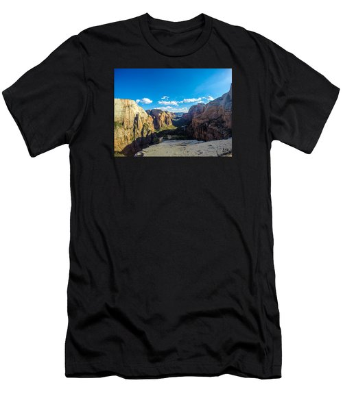 Angels Landing Men's T-Shirt (Athletic Fit)