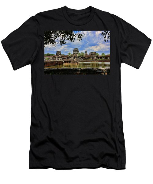 Angkor Wat Panorama  Men's T-Shirt (Athletic Fit)
