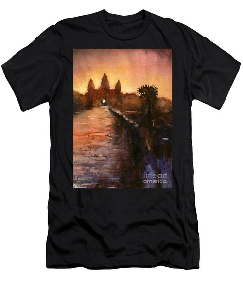 Angkor Wat Sunrise 2 Men's T-Shirt (Athletic Fit)