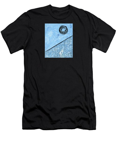 Angle Of Repose Vertical Men's T-Shirt (Athletic Fit)