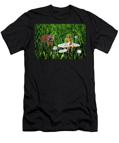 Angoisse Feminine#3 Men's T-Shirt (Athletic Fit)