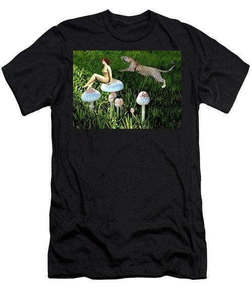 Angoisse Feminine#4 Men's T-Shirt (Athletic Fit)