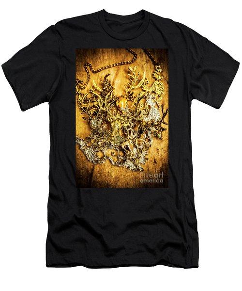 Animal Amulets Men's T-Shirt (Athletic Fit)