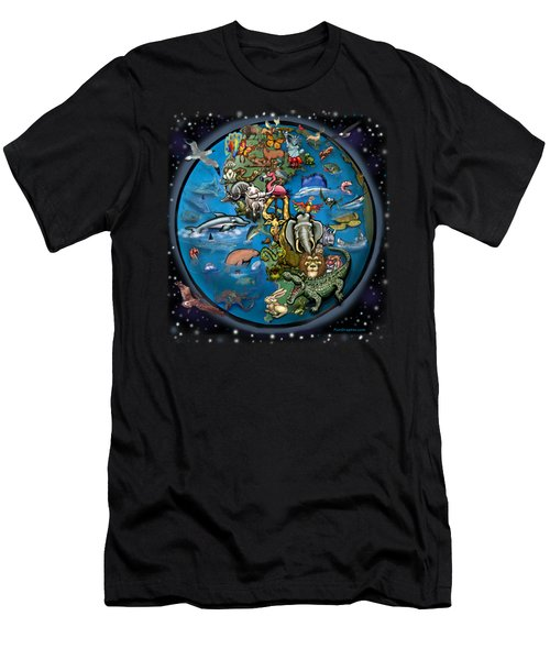 Animal Planet Men's T-Shirt (Slim Fit) by Kevin Middleton