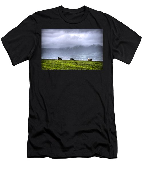 Animals Livestock-03 Men's T-Shirt (Athletic Fit)