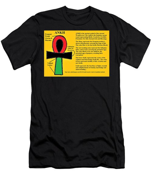 Ankh Meaning Men's T-Shirt (Athletic Fit)