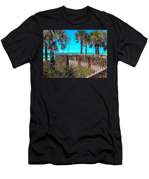 Anna Maria Boardwalk Access Men's T-Shirt (Athletic Fit)