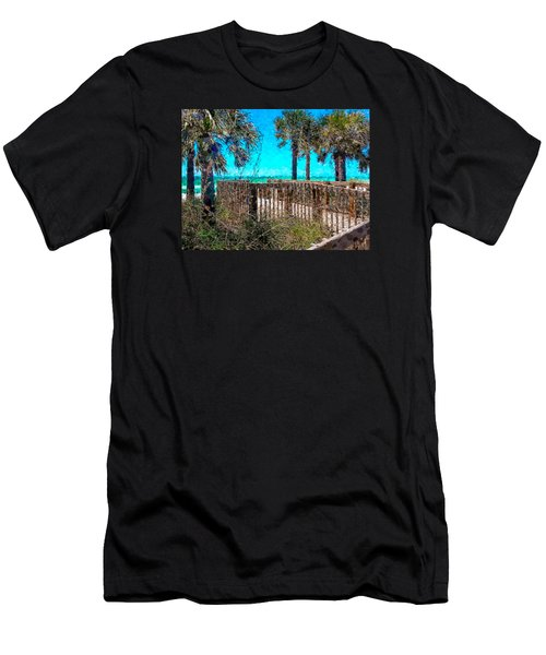 Anna Maria Boardwalk Access Men's T-Shirt (Athletic Fit)