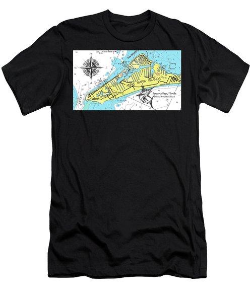 Anna Maria Island Men's T-Shirt (Athletic Fit)