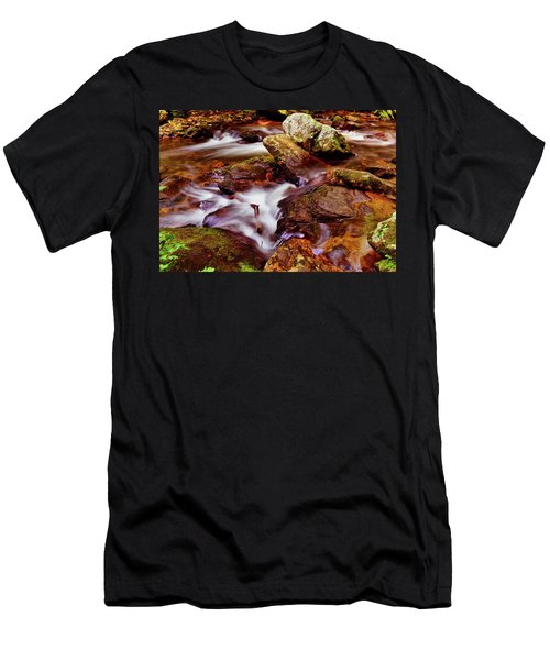 Anna Ruby Falls - Smith Creek 006 Men's T-Shirt (Athletic Fit)