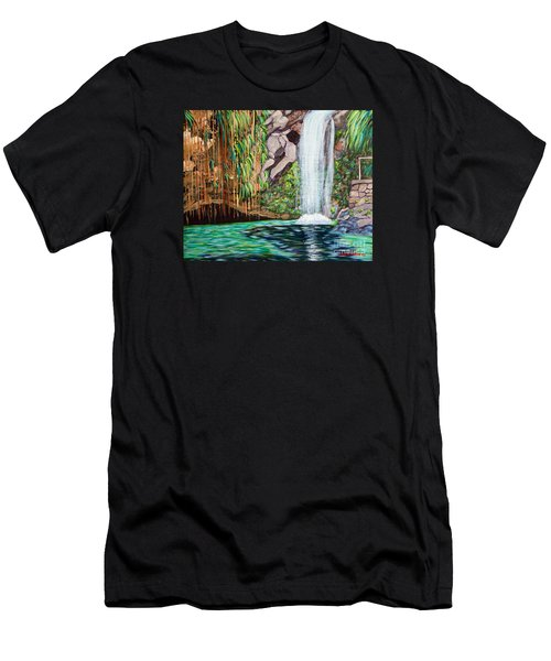 Annandale Waterfall Men's T-Shirt (Athletic Fit)