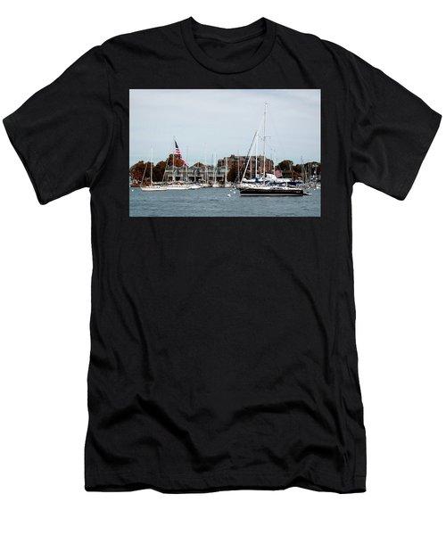 Annapolis Harbor Men's T-Shirt (Athletic Fit)