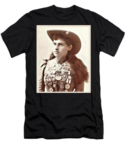 Annie Oakley 1 Men's T-Shirt (Athletic Fit)