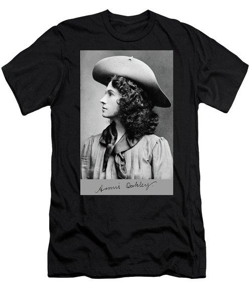 Annie Oakley Profile Men's T-Shirt (Athletic Fit)