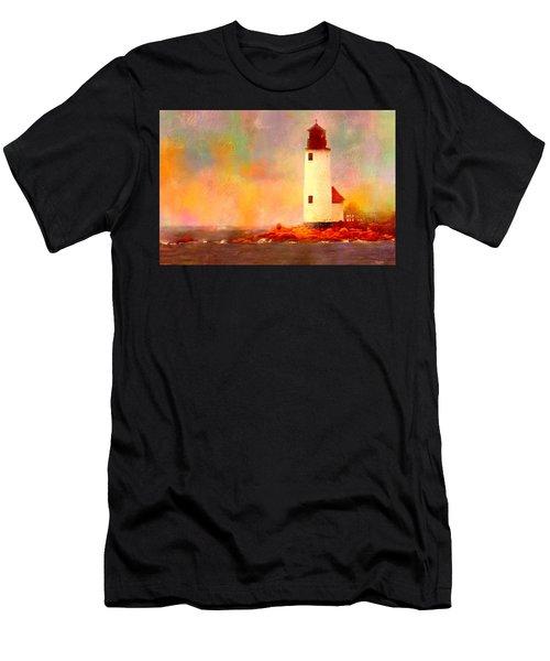 Annisquam Rainbow Men's T-Shirt (Athletic Fit)