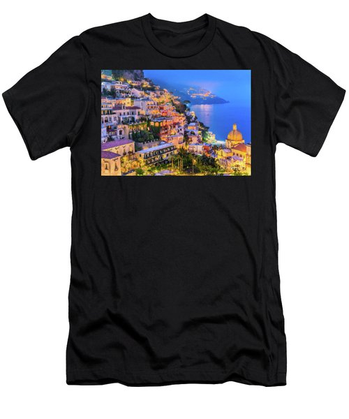 Another Glowing Evening In Positano Men's T-Shirt (Athletic Fit)