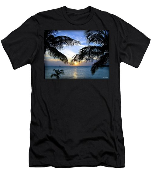 Another Key West Sunset Men's T-Shirt (Athletic Fit)