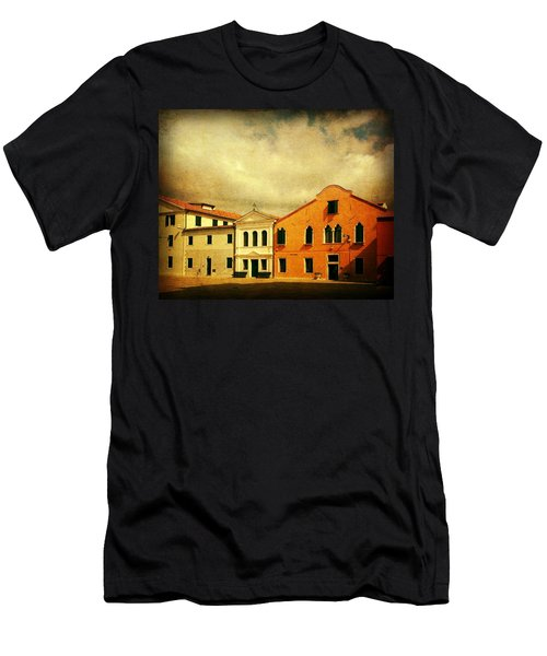 Men's T-Shirt (Slim Fit) featuring the photograph Another Malamocco Day by Anne Kotan
