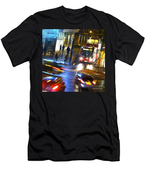 Men's T-Shirt (Slim Fit) featuring the photograph Another Manic Monday by LemonArt Photography