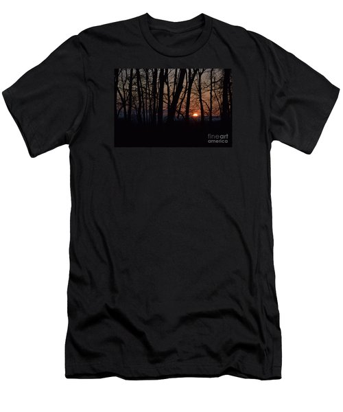 Another Sunrise In The Woods Men's T-Shirt (Athletic Fit)