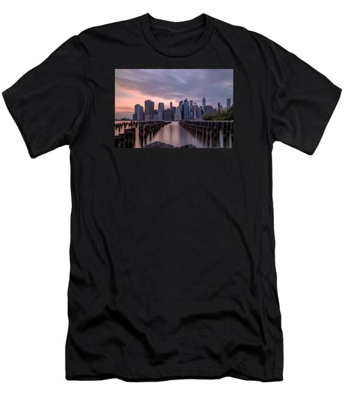Another Sunset  Men's T-Shirt (Slim Fit) by Anthony Fields