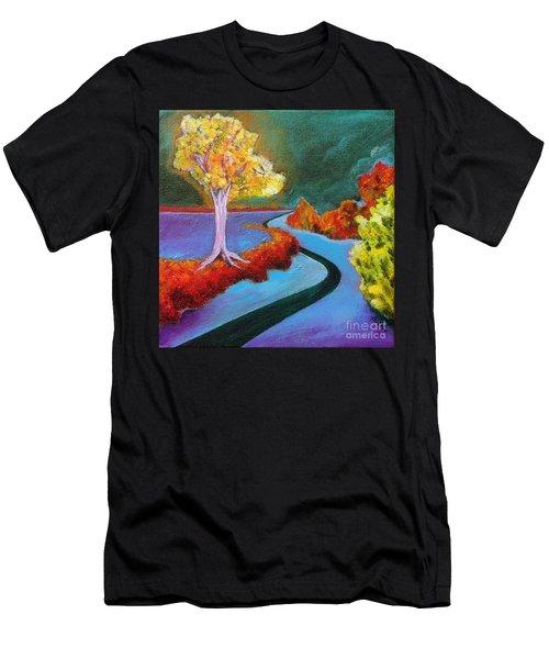 Golden Aura Men's T-Shirt (Athletic Fit)