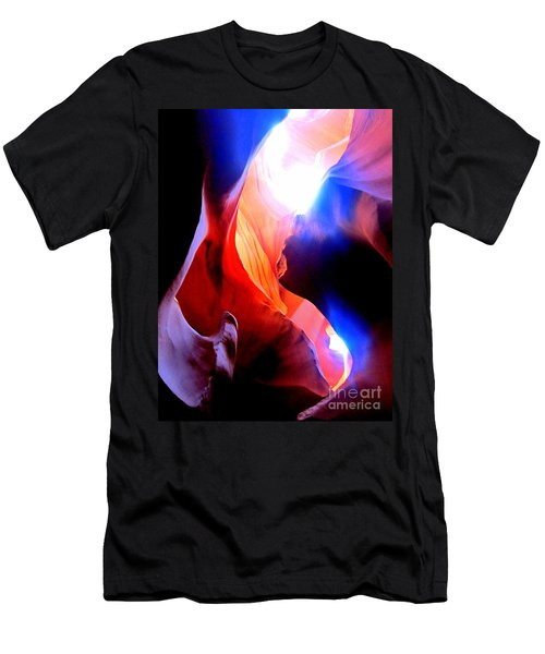Antelope Canyon Fusion A Men's T-Shirt (Athletic Fit)