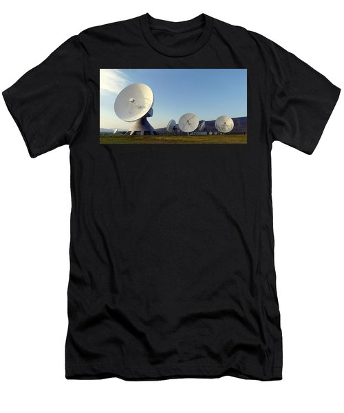 Antenna Array 2 Of The Earth Station  Men's T-Shirt (Athletic Fit)