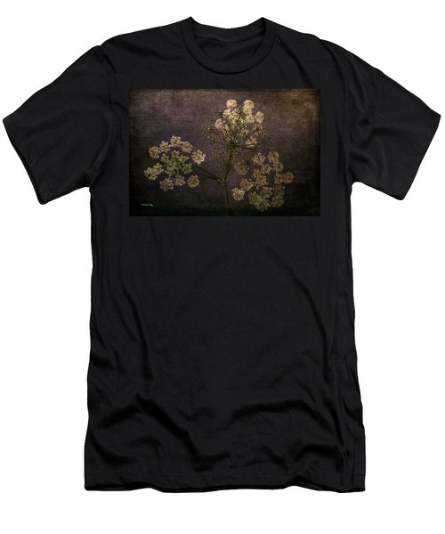Men's T-Shirt (Athletic Fit) featuring the photograph Anthriscus Sylvestris by Randi Grace Nilsberg