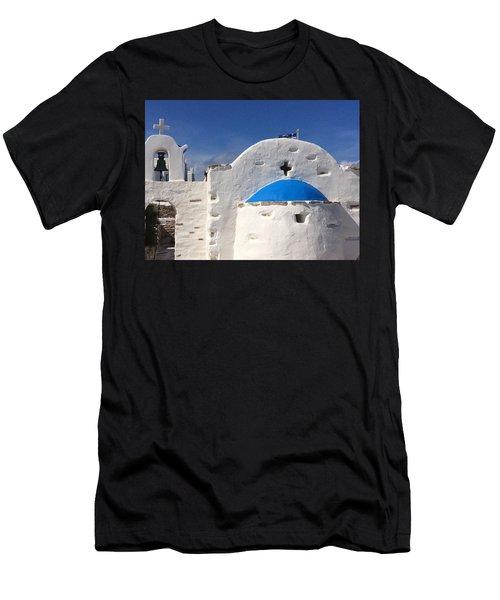 Antiparos Island Greece  Men's T-Shirt (Athletic Fit)