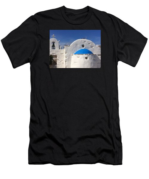 Antiparos Island Greece  Men's T-Shirt (Athletic Fit)