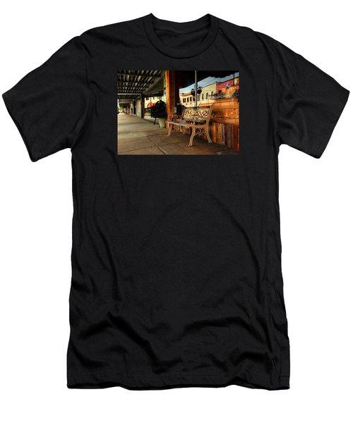 Antique Bench Men's T-Shirt (Athletic Fit)
