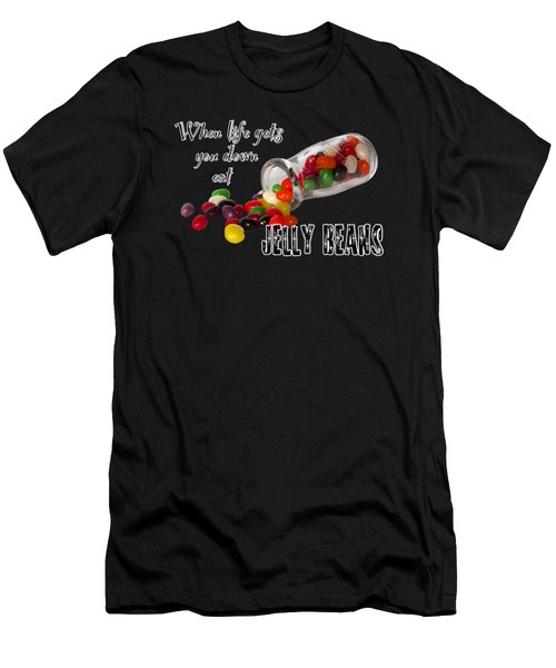 Antique Bottle And Jelly Beans Men's T-Shirt (Athletic Fit)