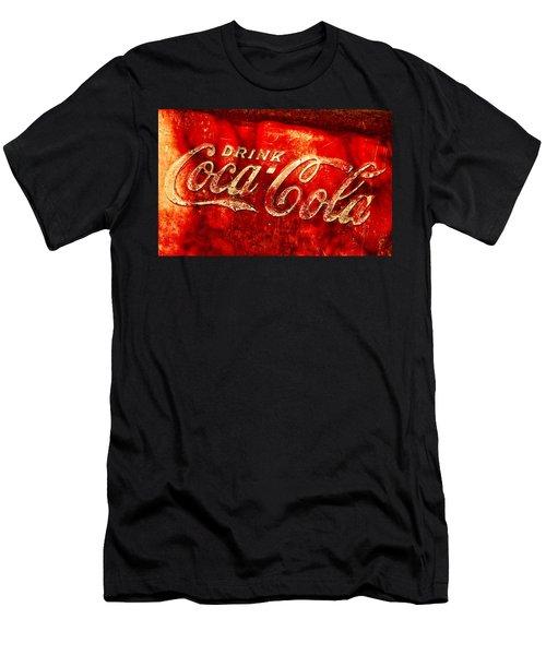 Antique Coca-cola Cooler Men's T-Shirt (Athletic Fit)