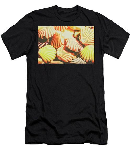 Antique Ocean Beads Men's T-Shirt (Athletic Fit)