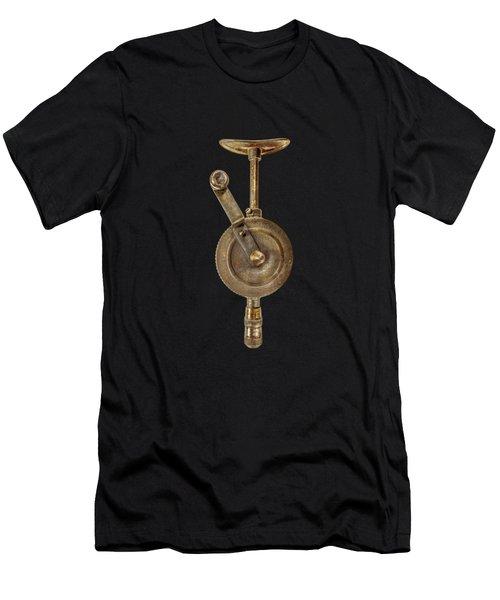 Antique Shoulder Drill Front Side Men's T-Shirt (Athletic Fit)