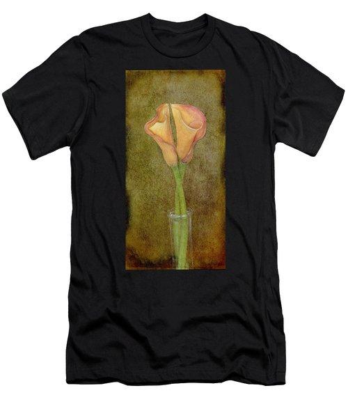 Antiqued Lilies Men's T-Shirt (Athletic Fit)