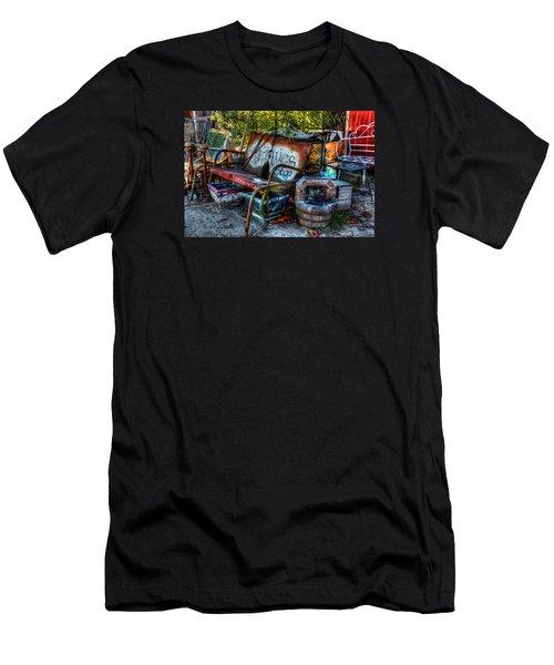Antiques Shop Men's T-Shirt (Slim Fit) by Ester Rogers