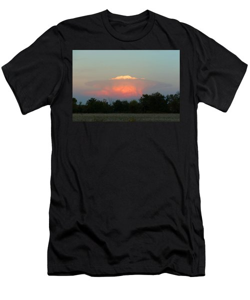 Anvil Cloud Over Kirksville, Mo Men's T-Shirt (Slim Fit) by Jana Russon