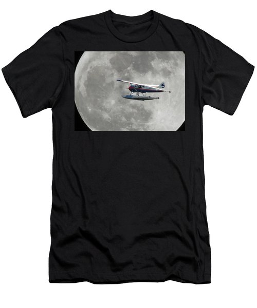 Aop And The Full Moon Men's T-Shirt (Athletic Fit)